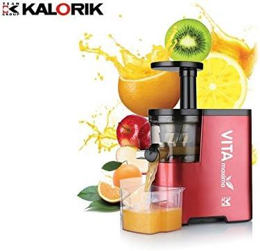 KALORIK TKG FE 1010 R Slow Juicer/Vertical Exprimidor, licuadora ...