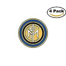 Inter Milano Italy Football Club Soccer FC 4 Sticker Decal 4X4
