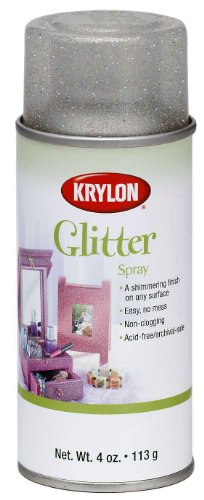 Glitter Aerosol Spray (Krylon I00405 Glitter Aerosol Spray, Magical Multi-Color Finish)