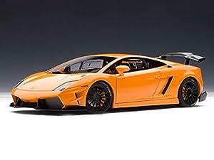 Nice Lamborghini Gallardo LP560 4 Super Trofeo 1/18 Orange