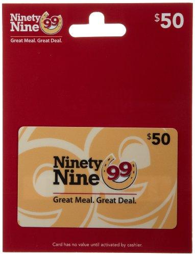 Amazon.com: Ninety Nine Restaurants Gift Card $25: Gift Cards