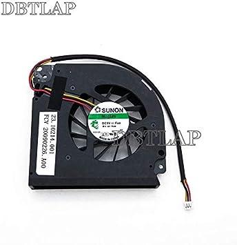 DBTLAP Ventilador de la CPU del Ordenador portátil para Acer ...