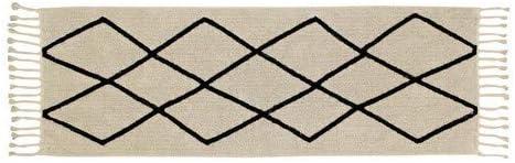 80/x 230/x 30/cm Lorena Canals Petite Bereber Tapis Lavable Coton Beige
