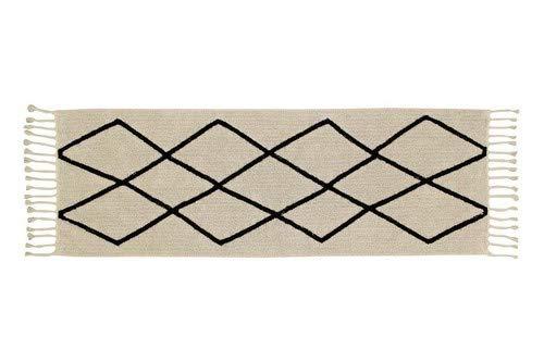 Lorena Canals Petite Bereber Tapis Lavable, Coton, Beige, 80x 230x 30cm
