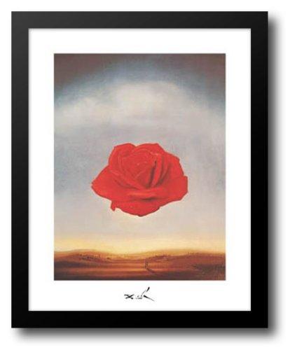 Meditative Rose, c.1958 15x18 Framed Art Print by Dali, Salvador - Dali Meditative Rose