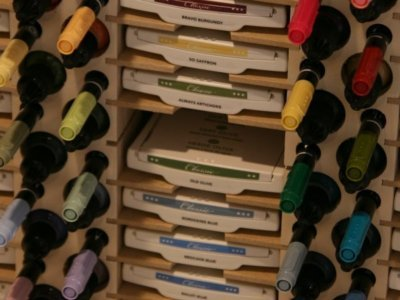 24 Ink Pad, Marker and Refill Bottle Holder by Stamp-n-Storage (Image #3)