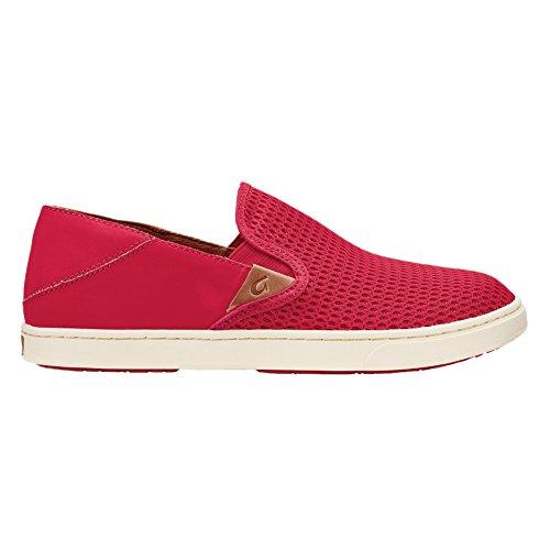 Olhuai Femmes Pehuea Slip Sur Les Chaussures, Ohia Rouge / Ohia Rouge, 7 B (m) Us