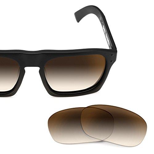 Verres de rechange pour Spy Optic Balboa — Plusieurs options Brun Gradient - Non-Polarisés
