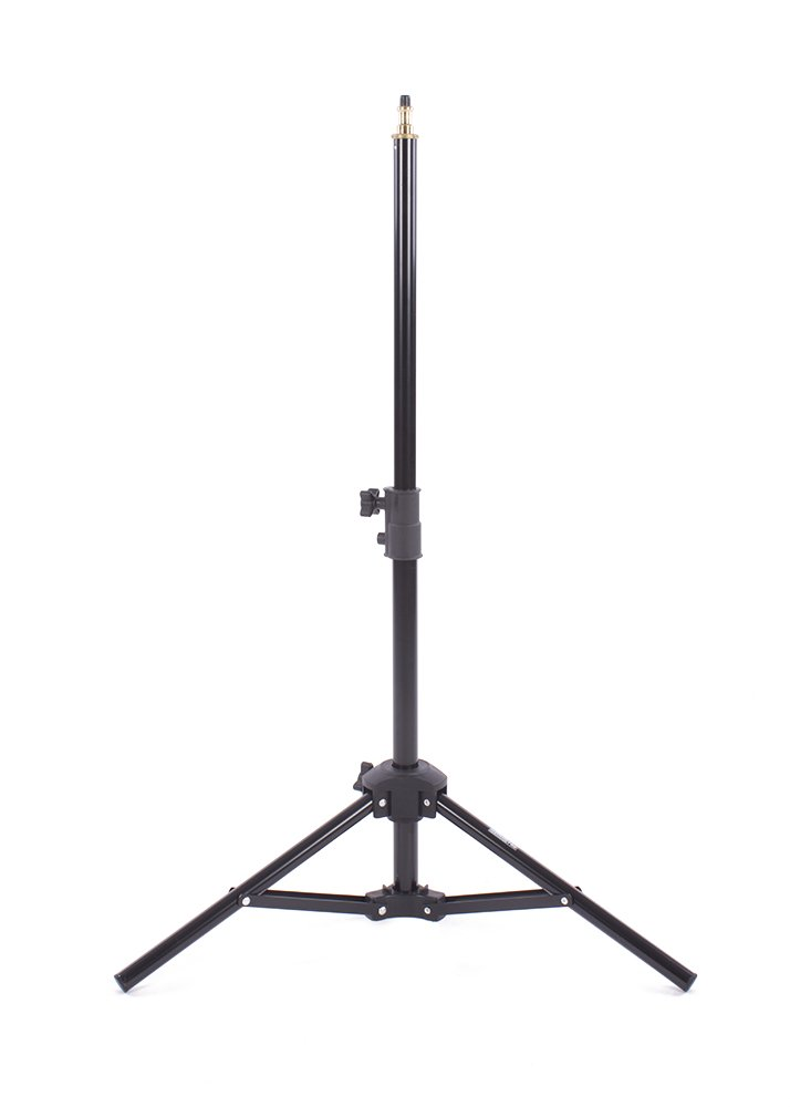 Fovitec - 1x 32'' Photography & Video Miniature Tabletop Light Stand - [For Lights, Reflectors, & Modifiers][Collapsible][Cast Metal][Universal Mount]
