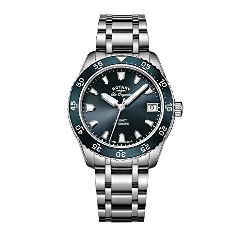Rotary LB90168-05 Ladies Legacy Silver Steel Bracelet Watch
