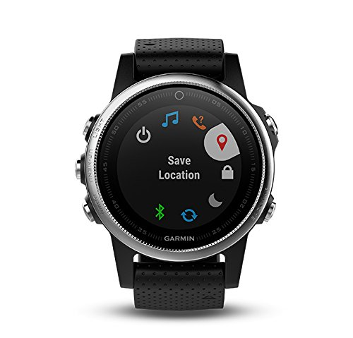 Garmin fenix 5S (Silver with Black Band) GIFT BOX Bundle | Includes HD Screen Protector, PlayBetter USB Car/Wall Adapter & Hard Case | Multi-Sport GPS Fitness Watch, Wrist-HR | Black Gift Box by PlayBetter (Image #3)