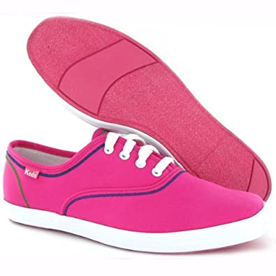 121547b9e Keds Champion Fuchsia Womens Trainers Size 6  Amazon.co.uk  Shoes   Bags
