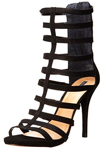 Women's Davinya Schutz Black Nubuck Sandal Dress qS11PdC