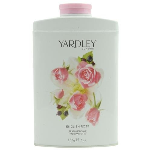 YARDLEY by Yardley ENGLISH ROSE TALC 7 OZ (NEW PACKAGING) for WOMEN ---(Package Of 2)