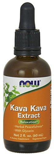 NOW Kava Kava Extract Liquid,2-Ounce