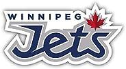 Winnipeg Jets NHL Hockey Logo Vinyl Sticker 6 X 3 inches