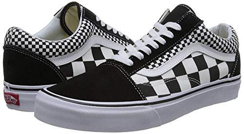 - Old Skool Mix Checker Black/True White Black/True White (Mix Checker),Size 11 Women/9.5 Men