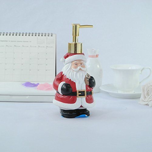 Dream bath santa claus soap dispenser lotion