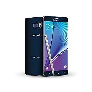 Samsung Galaxy Note 5 SM-N920A 32GB GSM Unlocked Cellphone, Black