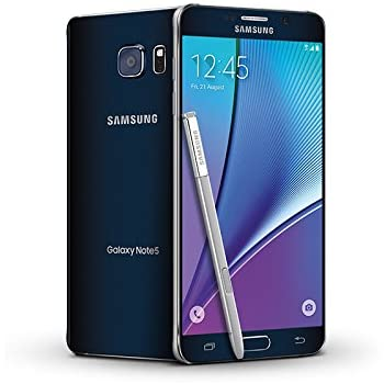 Samsung Galaxy Note 5 SM-N920A 32GB GSM Unlocked Cellphone, Black Sapphire