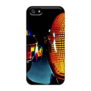 TimeaJoyce Iphone 5/5s Protector Hard Cell-phone Case Support Personal Customs HD Daft Punk Pattern [ICJ7768CJre]