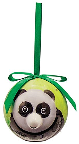 D&D Distrubutions D&D Blinking Animal Christmas Ornament with Extra Batteries (Panda) by D&D Distrubutions
