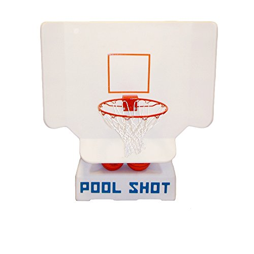 Pool Basketball Hoop by Pool Shot - Varsity Adjustable