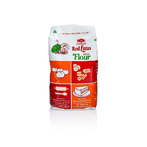 (Red Lotus Special Flour for Steamed Cakes)
