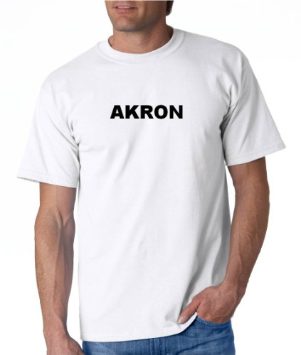 AKRON - City-series - White T-shirt - size X-Small for sale  Delivered anywhere in USA