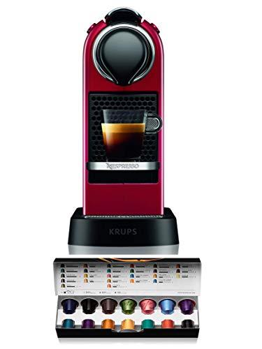 Krups Nespresso XN7415 Citiz cafetera de cápsulas monodosis, con 19 bares de presión, thermoblock, función automática…