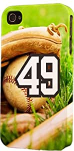 Baseball Sports Fan Player Number 5c9 Plastic Snap On Flexible Decorative Apple iPhone 5c Case