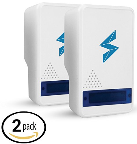 SparkPod Ultrasonic Pest Control Repeller (2 Pack) – Indoor Repellent for...