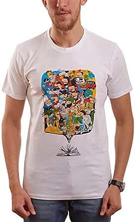 Nas Trends Cotton Round Neck T-Shirt For Men