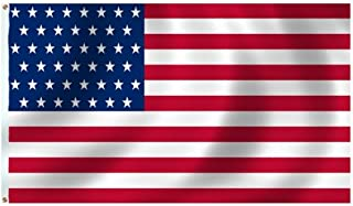 product image for Historical U.S. 45 Star Flag 5X8 Foot SolarMax Nylon