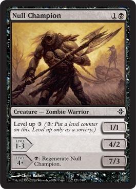 Magic: the Gathering - Null Champion - Rise of the Eldrazi