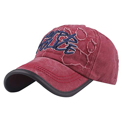 (Men Women Washed Baseball Cap Fashion Embroidered Flying Eagle Denim Caps Outdoor Outing Protection Sun Visor Hat)