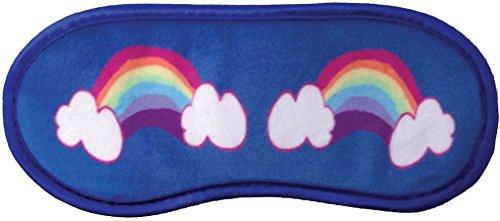 iscream Fun and Colorful Satin-Lined Silky Fleece Rainbow Dreams Sleep Mask for Girls by iscream