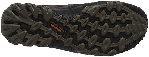 Merrell Cham 7 Limit Waterproof, Stivali da Escursionismo Uomo Grigio (Beluga)