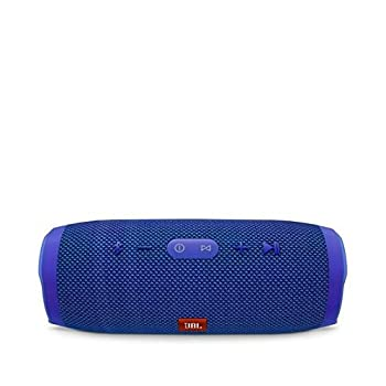 Jbl Charge 3 Waterproof Portable Bluetooth Speaker (Blue) 0
