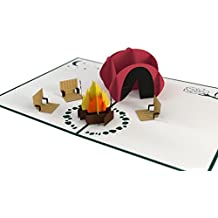 Lovepop Camping Trip Pop Up Card, 3D Card, Greeting Card