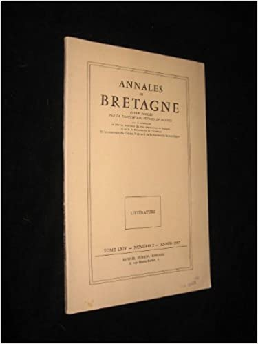 En ligne téléchargement Annales de Bretagne. Revue publiée par la Faculté des lettres de Rennes. Tome LXIV n°2, année 1957 epub pdf