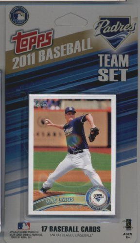 2011 Topps Limited Edition San Diego Padres Baseball Card...