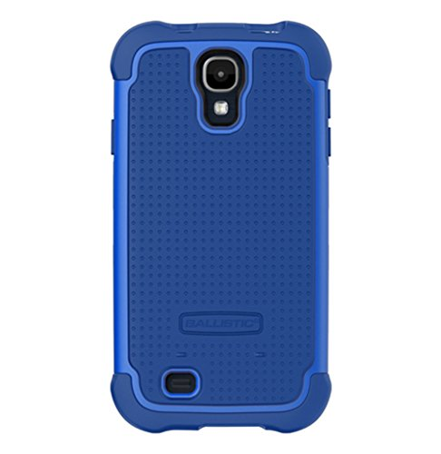 - Ballistic SG1158-A185 Case for Cellular Phone for Samsung Galaxy S4 - Retail Packaging - Navy/Cobalt