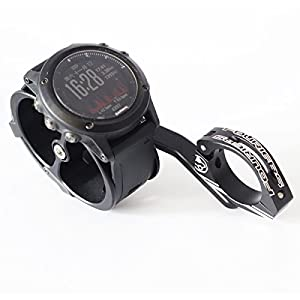 Fouriers Out Fromt Cycling Watch Mount For Garmin Forerunner Fenix Alloy