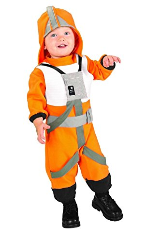 Rubie's Toddler Boys Star Wars X-Wing Fighter Pilot Jumpsuit Costume (Toddler 2T-3T) -