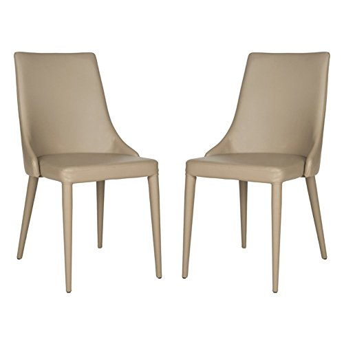 Safavieh Home Collection Summerset Taupe Side Chair (Set of 2)