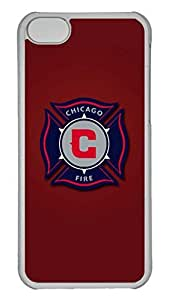 GOOD 5C Case, iPhone 5C Case, Personalized Hard PC Clear Shoockproof Protective Case Cover for New Apple iPhone 5C - Chicago Fire