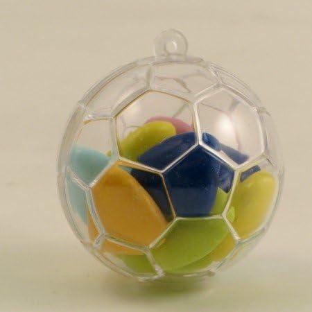 Bombonera (4 unidades), caja con forma de balón de fútbol de ...