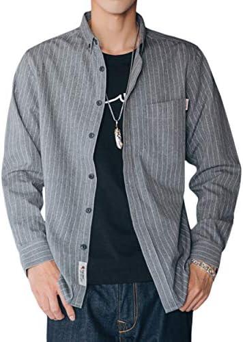 シャツ メンズ 長袖 シャツ 100%綿 オックスフォードシャツ ボタンダウンシャツ メンズ カジュアルシャツ オシャレ コットン シャツ 春 夏 秋 冬