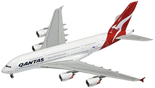 (GeminiJets Qantas Airways A380 VH-OQG 1:400 Scale Die Cast Airplane Model)